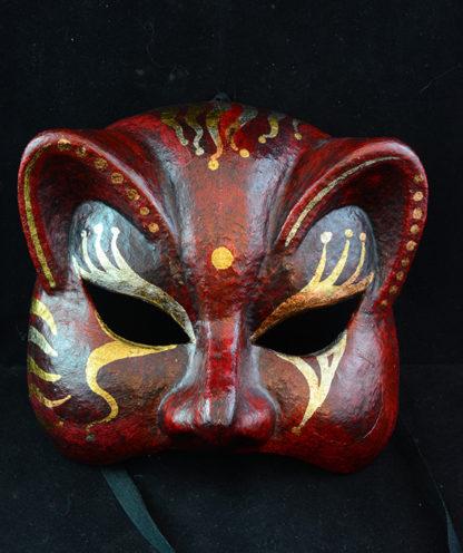 mascara gato fantasía